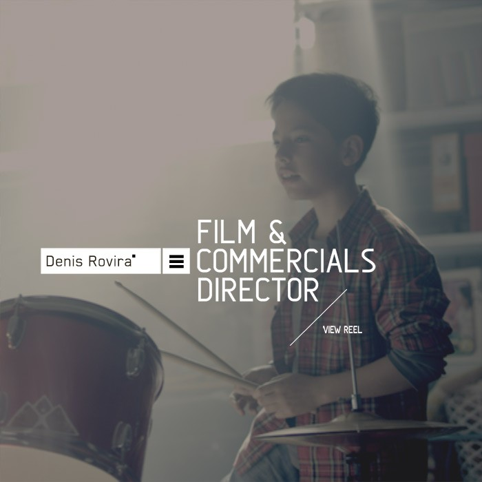DENIS ROVIRA &#8211; FILM DIRECTOR<br><h7>&#8211; web design &#8211;</h7>