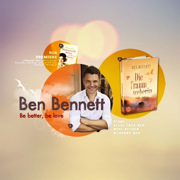 BEN BENNETT &#8211; AUTHOR<br><h7>&#8211; web design &#8211;</h7>