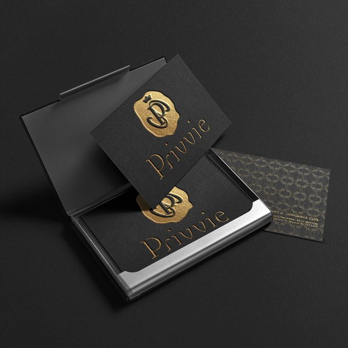 PRIVVIE – CONCIERGE CLUB<br><h7>– logo, identity & web design –</h7>