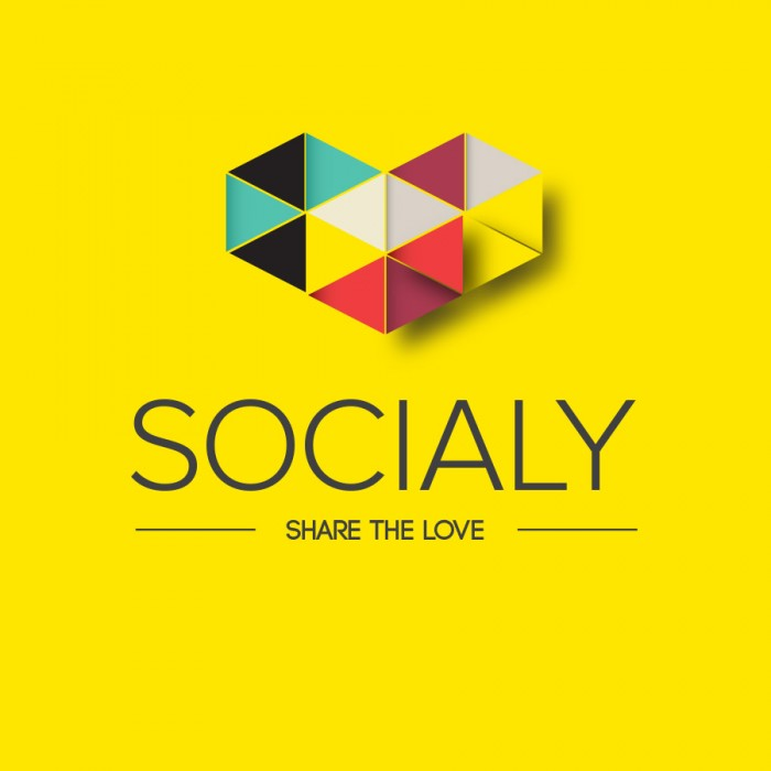 SOCIALY – WEB APPLICATION<br><h7>– logo, identity & web design –</h7>