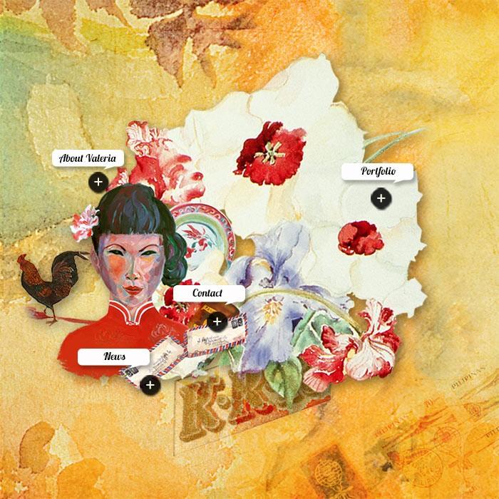 VALERIA CAVESTANY &#8211; ARTIST<br>  <h7>&#8211; web design &#8211;</h7>